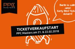 PPC Masters 2018 – Ticketverkauf gestartet